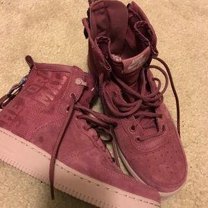 Women's Force is Female Air Force One Size 8